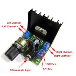 TDA7297 power amplifier board