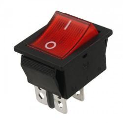 کلید راکر 4پایه چراغ دار